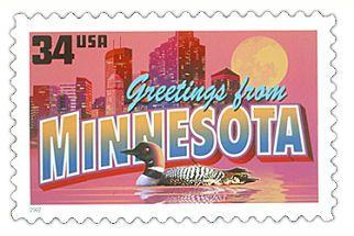 MN stamp 34 cent